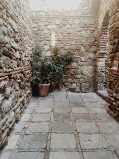 serene corner of Gibralfaro