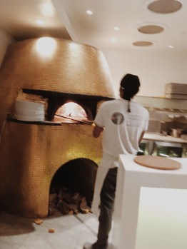 Stone oven so you know it's real