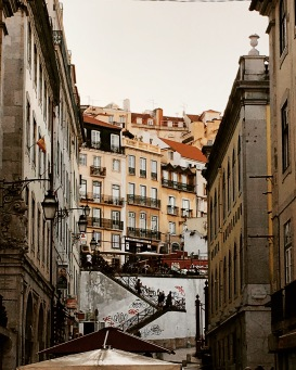 Lisbon architecture is straight out of a fairytale