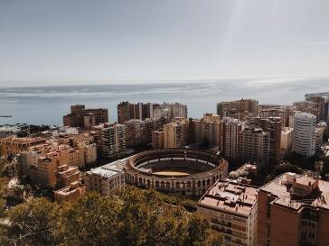 Views from Castillo de Gibralfaro