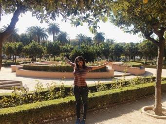 The prettiest park in Malaga!